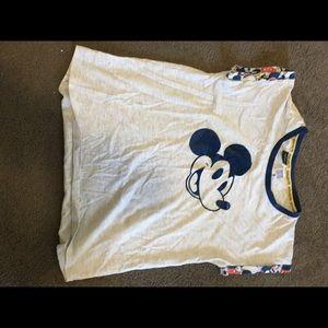 Mickey Mouse pyjama top